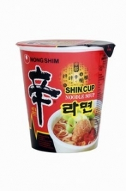 Nong Shim Shin( CUP )Hot&Spicy  Noodle Soup