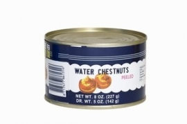 Waterkastanjes, water chestnuts 227 gram