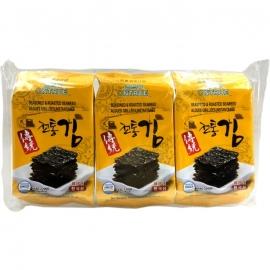 Koreanse zeewier snack