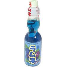 Ramune Blueberry frisdrank 200ml