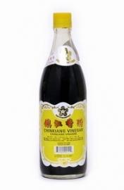 Chinkiang vinegar 550 ml (zwarte azijn)