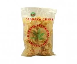 Cassava chips gebakken naturel 250 gr
