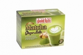 Gold Kili Matcha Ginger Latte