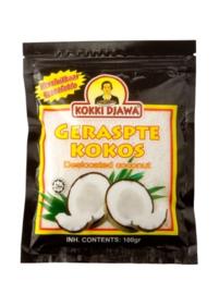 Geraspte cocos 100 gram
