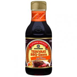 Teriyaki BBQ-Sauce Met Honing 250ml