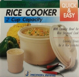 Magnetron rijst cooker small 2cups