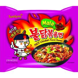 SamYang hotchicken Mala noodles 5 stuks
