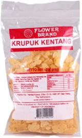 Krupuk kentang (ongebakken)