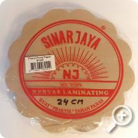 Piring Lidi (papiervellen) 24 cm
