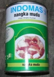 Indomas nanga muda(green jackfruit)