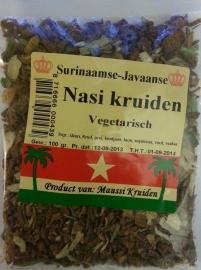 Nasi kruiden gedroogd(surinaamse-javaanse)