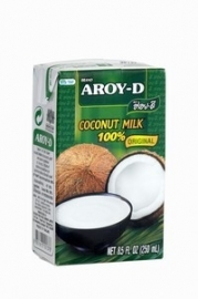 Aroy-d  coconut milk 250 ml