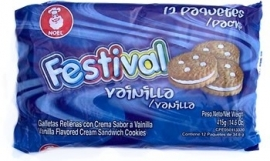 Festival vanille cookies