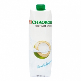 Chaokoh Cocos water 1 liter   100% puur