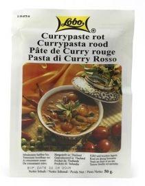 Lobo red curry pasta 50 gr