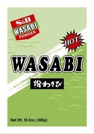 Wasabi poeder origenal s&b 300 gram