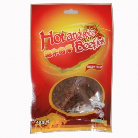 Beef Jerk hot and spice 40 gr