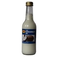 Cocos olie, 100% puur 250 ml