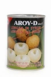 aroy-d longan in siroop 565 gr