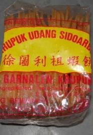 Kroepoek udang sidoardjo  ongebakken 500 gr
