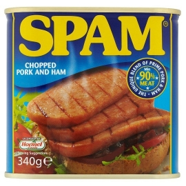 Spam (chopped pork and ham)