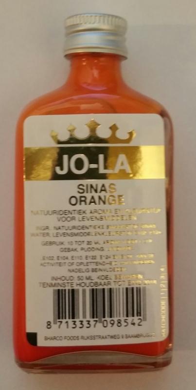 Jola Sinas(orange) 50ml