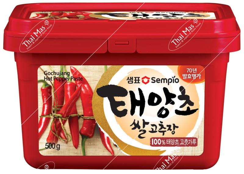 Korean hot peper paste 500 gram
