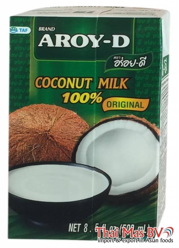 Aroy-d coconut milk 500 ml