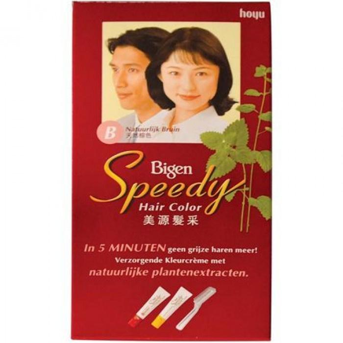 Bigen Speedy (natuurlijk bruin)