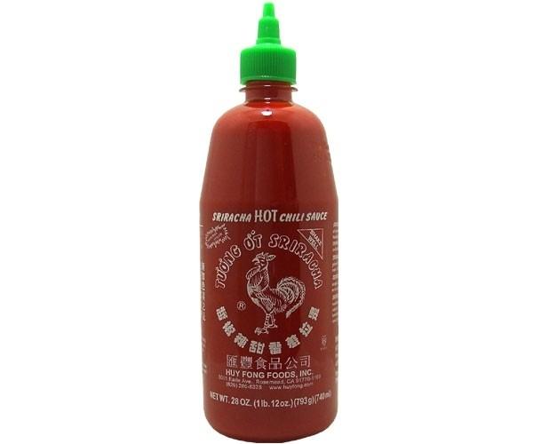 Sriracha hot chilli saus 730 ml