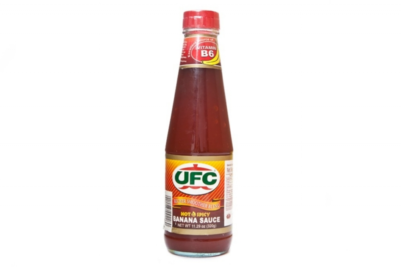 Bananen chili  saus UFC (hot)