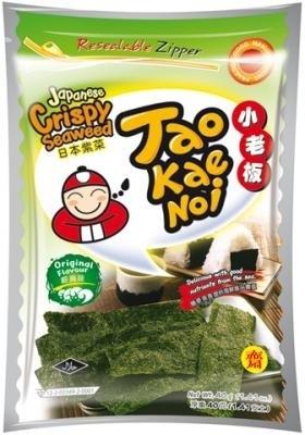 Taokaenoi Japanse Crispy original seaweed 40 gram
