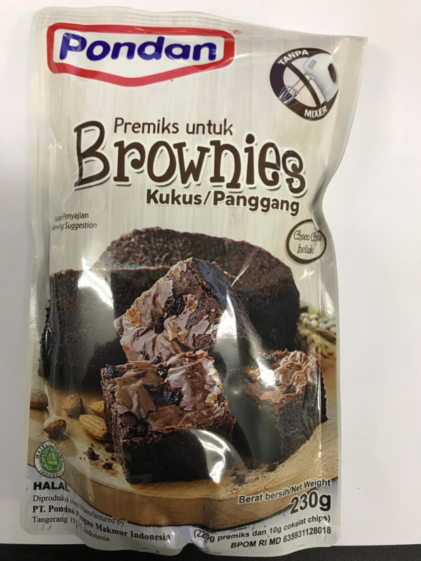 Pondan Brownies