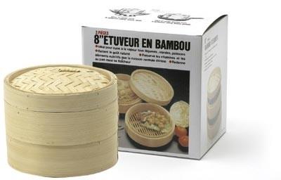 Bamboo stoom mand 20 cm