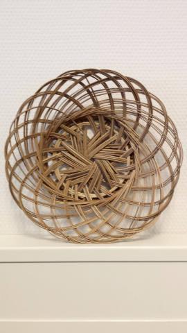Piring Lidi (bamboe bordje) 24cm