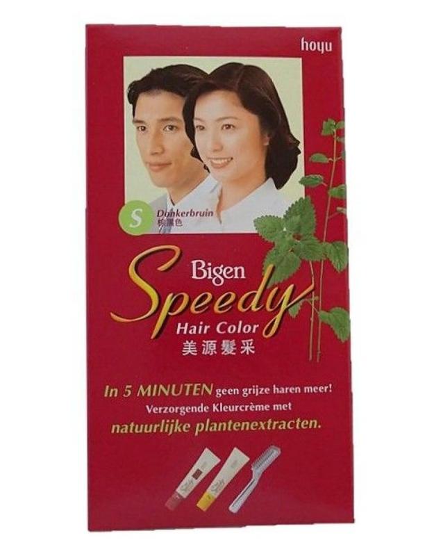 Bigen Speedy (donker  bruin)