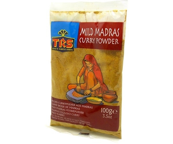 Curry powder madras mild 100gr