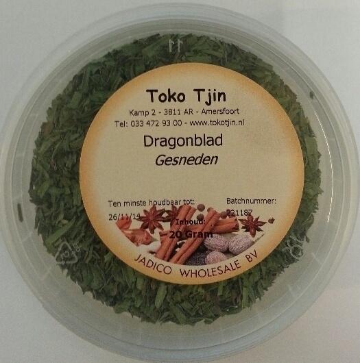 Dragonblad Gesneden 20 gram