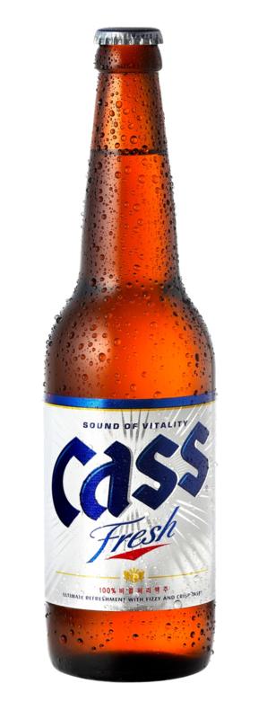 CASS BEER-BOTTLE 4.5%