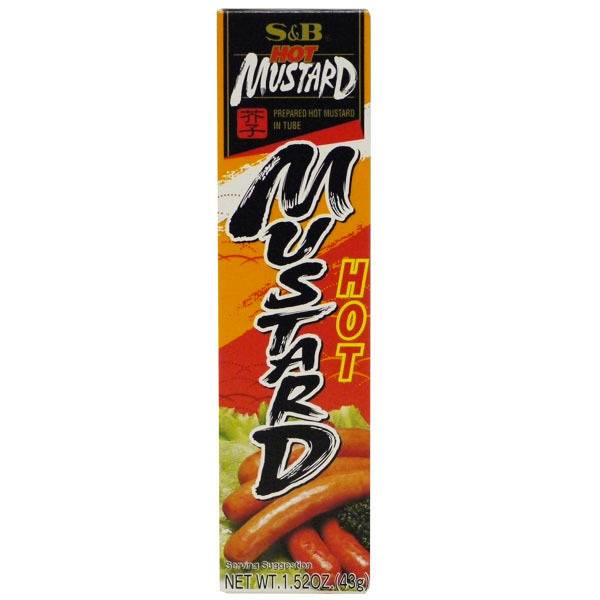S & B Hot Mustard Paste 43 g