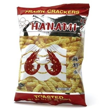 Hanami chips prawn  60 gr