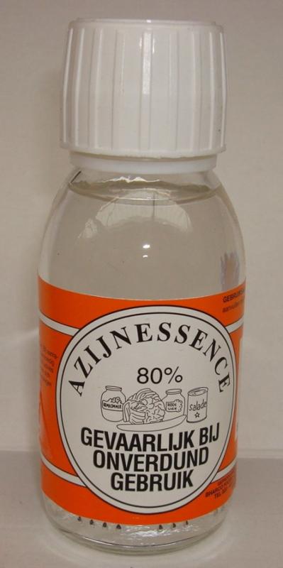 Azijnessence 80% inhoud 250 ml