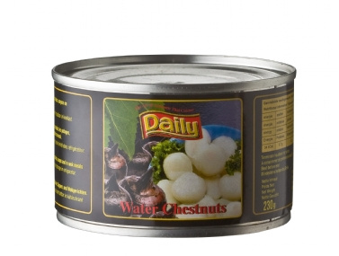 Waterkastanjes, water chestnuts 230 gram
