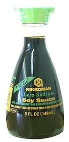 Kikkoman less salt 150 ml
