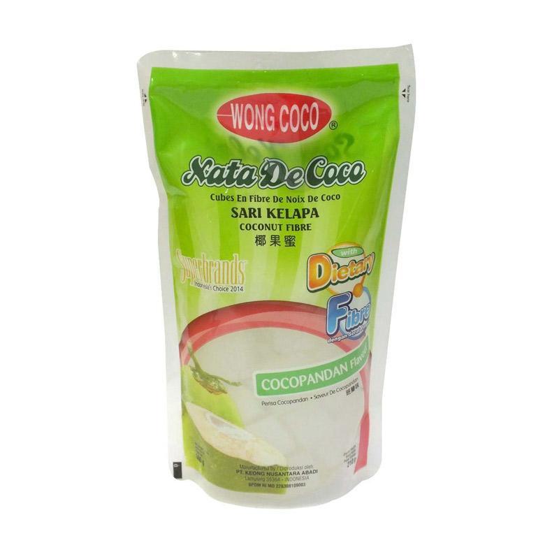 Coco nata cubes