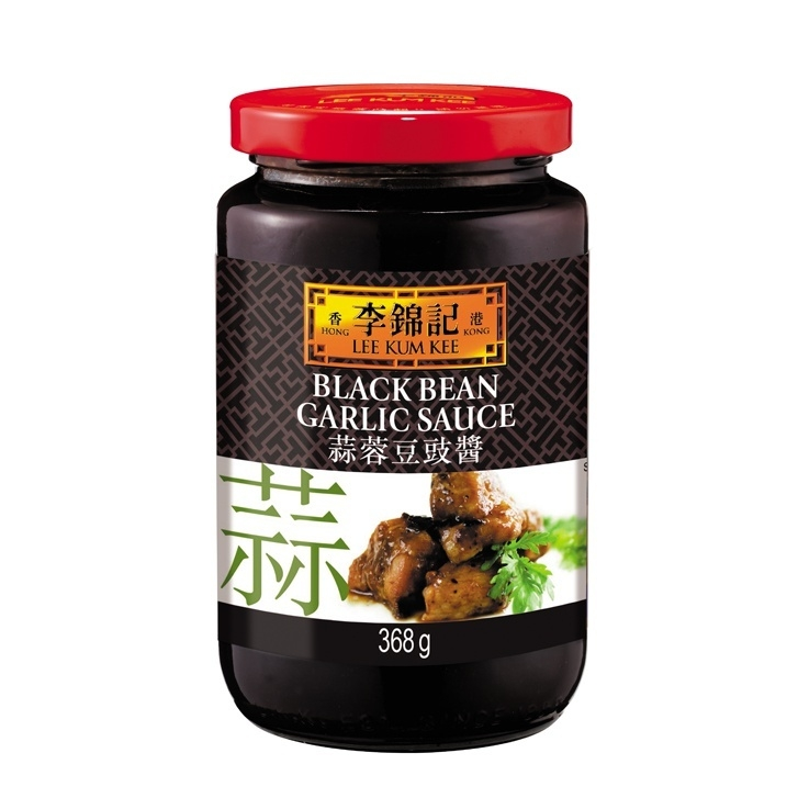 LLK Black bean garlic sauce 368gr
