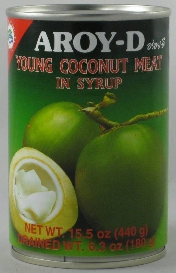 Aroy-d Young coconut meat 440 gram