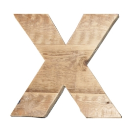 Letter - X -