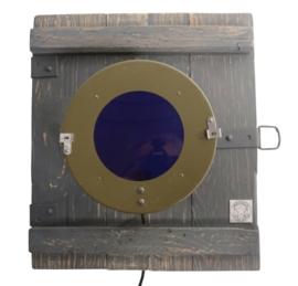 Wandlamp Police Antraciet (alléén LED-lampen gebruiken)