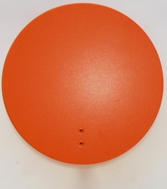 Wandlampje Round & Round Orange